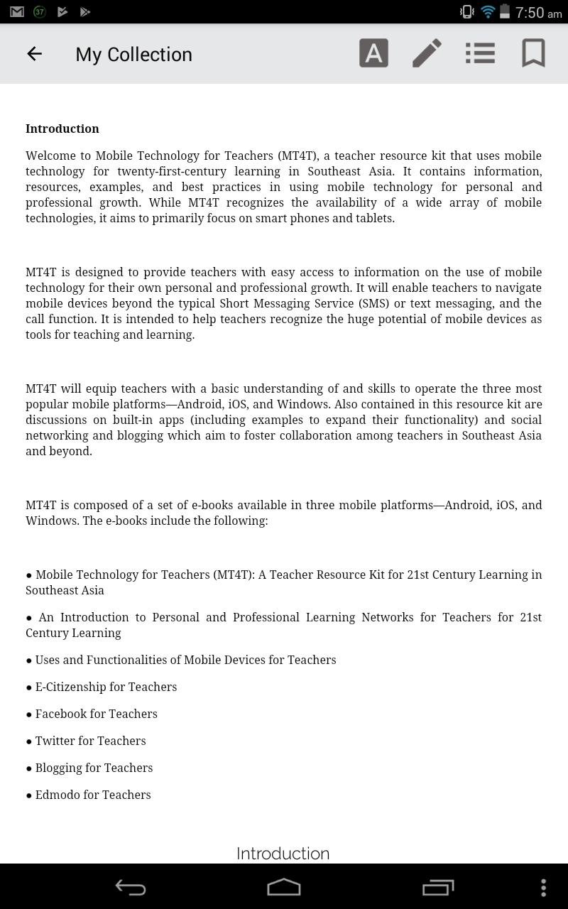 Facebook for Teachers (Android) – Mobile Technology for Teachers