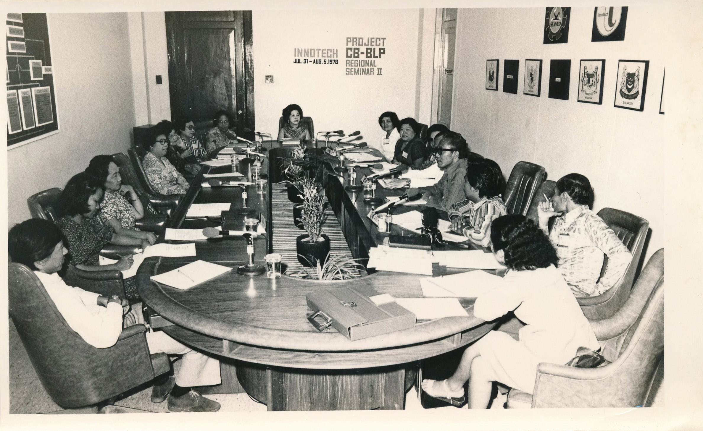Community-Based Basic Learning Package project meeting
