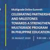 multigrade summit event poster